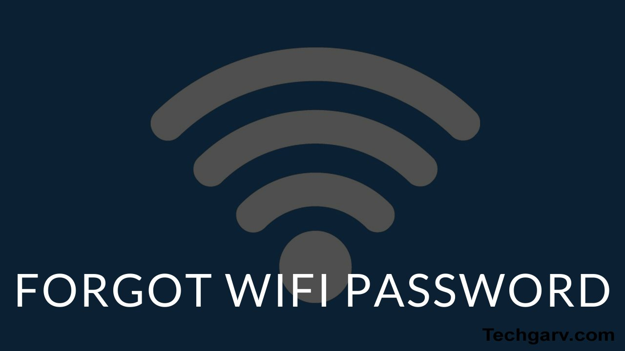 Forgot WIFI Password? Use These 3 Effective Ways To Find Out Again