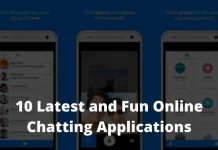 Latest and Fun Online Chatting Applications