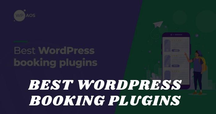 Best WordPress Booking Plugins