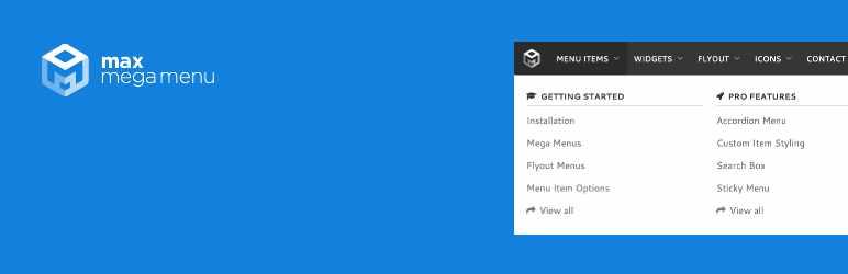 The best mobile WordPress plugin - Max Mega Menu