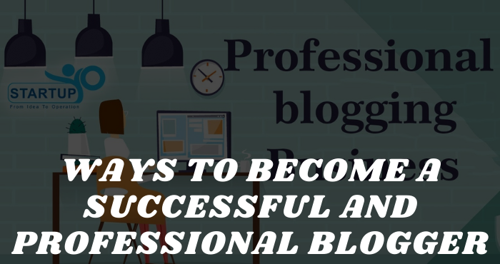 Ways to Become a Successful and Professional Blogger