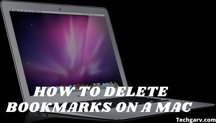 How To Delete Bookmarks On A Mac
