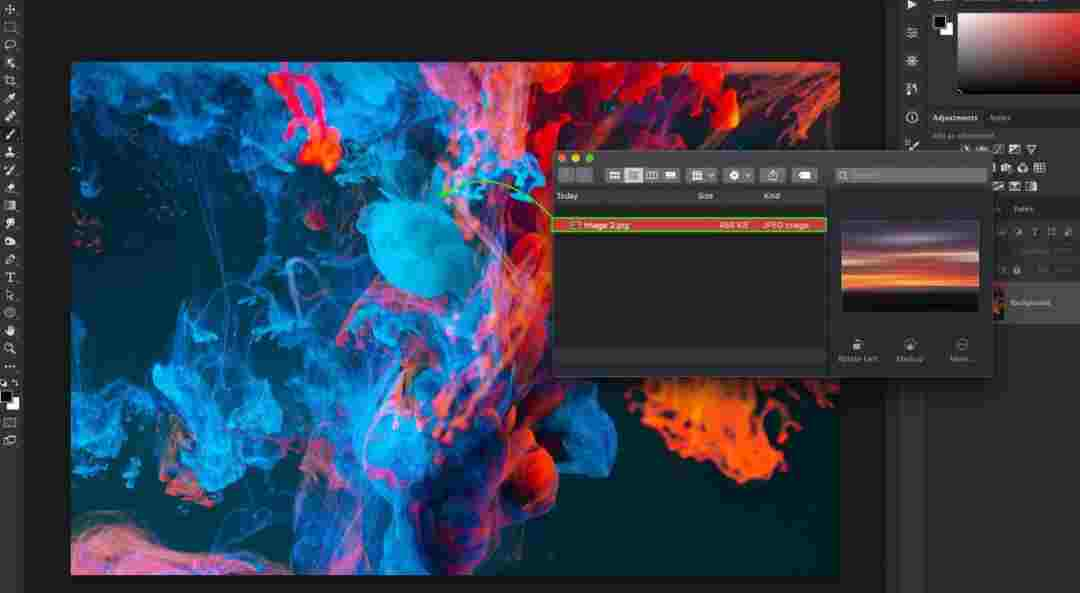 How to Add an Image in Photoshop