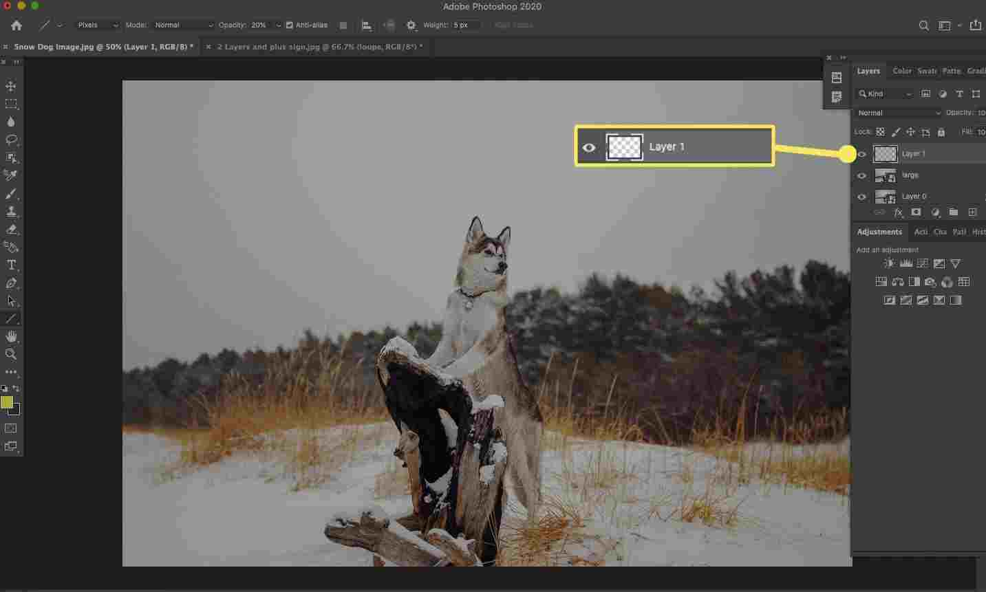 How to Create a Snow Effect in Photoshop