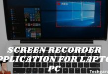 Screen Recorder Application for Laptop PC