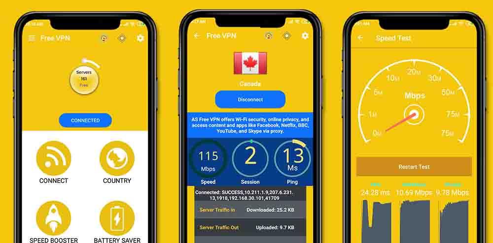 Yellow Battery – Battery Saver App