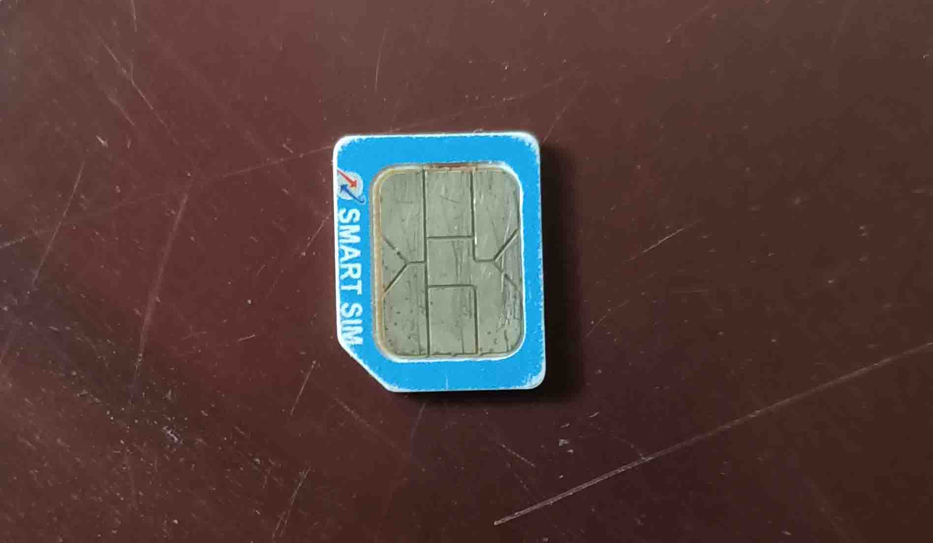 Re-insert Your SIM Card