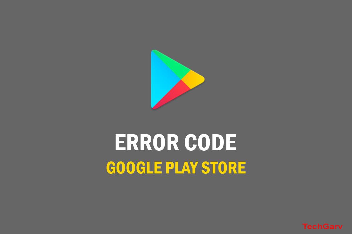 Error Code 907 In Play Store