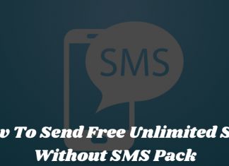 How To Send Free Unlimited SMS Without SMS Pack