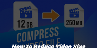 How to Reduce Video Size