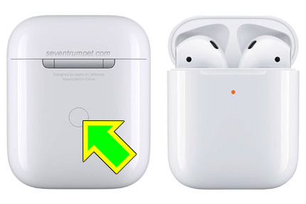 reset the AirPods case